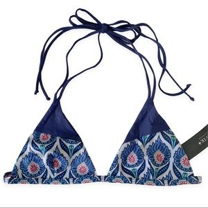 Free People xTavik Palm Desert Triangle Bikini Top